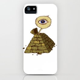 eye in the pyramid! iPhone Case