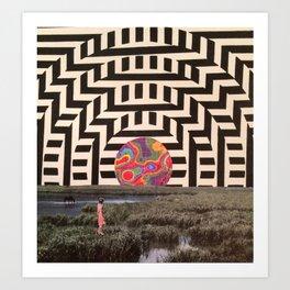 Collag Art Print