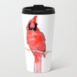 cardinal Metal Travel Mug