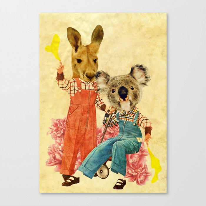 Australia Icon: The Nation Canvas Print