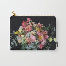 Lush Peachy Bouquet Carry-All Pouch