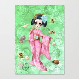 Wagashi Canvas Print