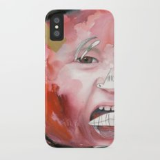 I feel angry iPhone X Slim Case