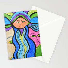 Libby in the Middle Stationery Cards