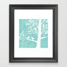 Birds in a Tree Framed Art Print