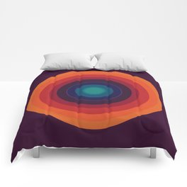 Concentric Sunrise Comforters