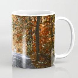 Autumn Pathway ~ Rockville, Indiana Coffee Mug
