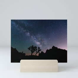 Desert Night Sky Starry Night Photography Mini Art Print