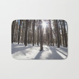 Yellowstone National Park - Lodgepole Forest 2 Bath Mat