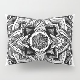 Mandala Circles Pillow Sham
