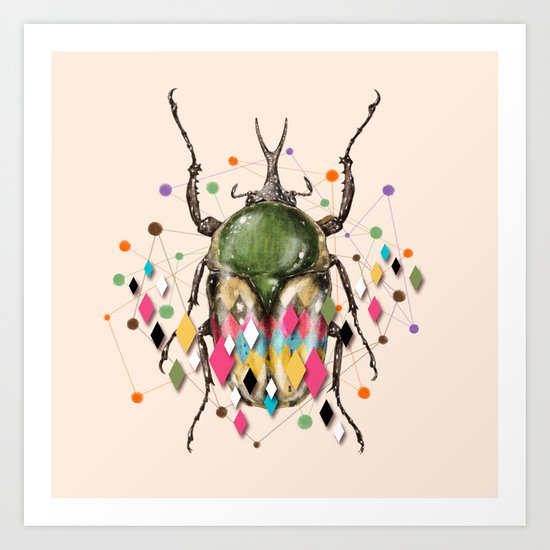 Insect VII Art Print