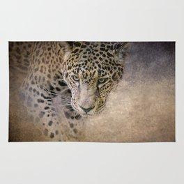 Stalking Her Prey - Wildlife - Leopard Rug