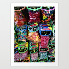 Bodega Bag Swag Art Print