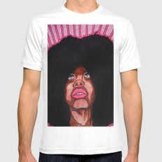To and FRO MEDIUM Mens Fitted Tee White