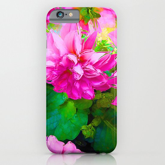 Hot Dahlia's iPhone & iPod Case