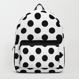 Black & White Polka Dots Backpack