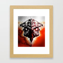 A Moment's Time Framed Art Print