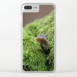 Forest Treasure Clear iPhone Case