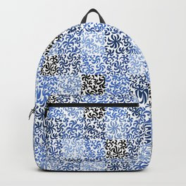 pattern of leaves and flowers 2 Backpack