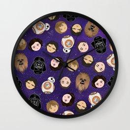 Stars w pattern Wall Clock