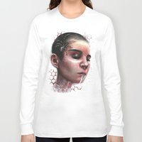 cherry Long Sleeve T-shirts featuring Cherry by Skyhook