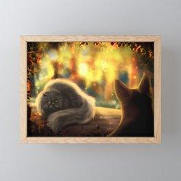 Firepaw and Yellowfang Framed Mini Art Print