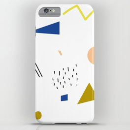 terrazzo confetti iPhone Case