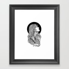 HIGHER THAN THE MOUNTAINS Framed Art Print