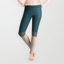Short over knee jeans Leggings
