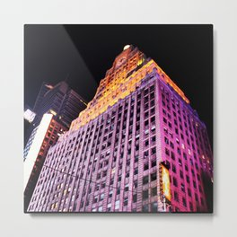 NYC LEVIS Metal Print