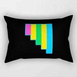 Polyromantic Rectangular Pillow