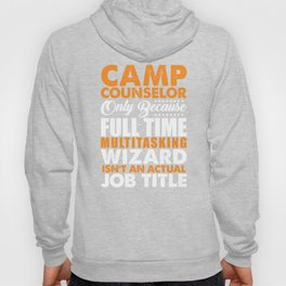 Camp Counselor Wizard Hoody