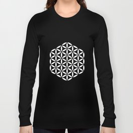 Flower of Life Yin Yang Long Sleeve T-shirt