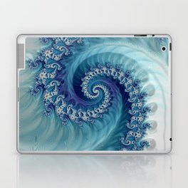 Sound of Seashell - Fractal Art Laptop & iPad Skin
