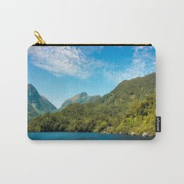 Wonderful View in Doubtful Sound, New Zealand. Carry-All Pouch