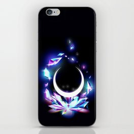 Dark Moon Ginzuishou iPhone Skin