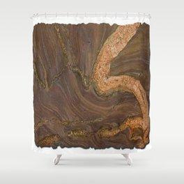 Kilimanjaro Marble Shower Curtain