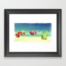 I confused things with their names Framed Art Print