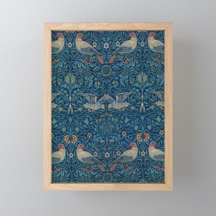 """William Morris """"Birds"""" 1. Framed Mini Art Print"""