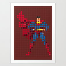 Mr Super Art Print