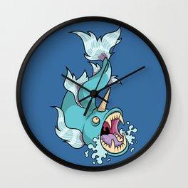 Unicorn Fish Wall Clock