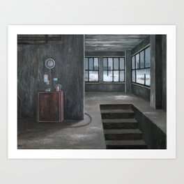 Cold Hours Art Print
