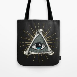 All seeing eye of God Tote Bag