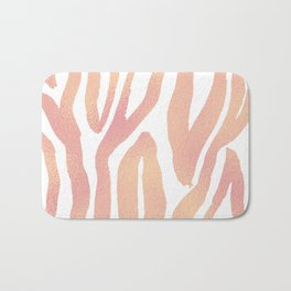 wild thing (pink and gold foil) Bath Mat