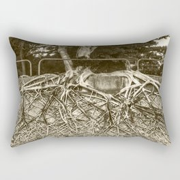 Our roots - tree with massive root network Rectangular Pillow