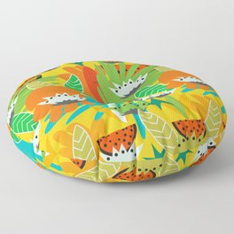 Watermelons and carrots Floor Pillow