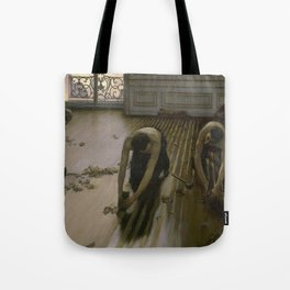 Gustave Caillebotte - The Floor Planers Tote Bag