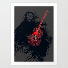 Playing With My Heart Art Print
