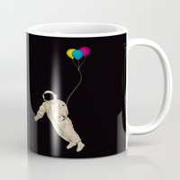astronaut Mugs featuring Astronaut by Koning
