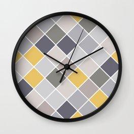 Classic Gray Wall Clock